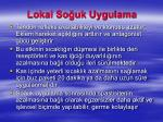 lokal so uk uygulama