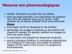 mesures non pharmacologiques1