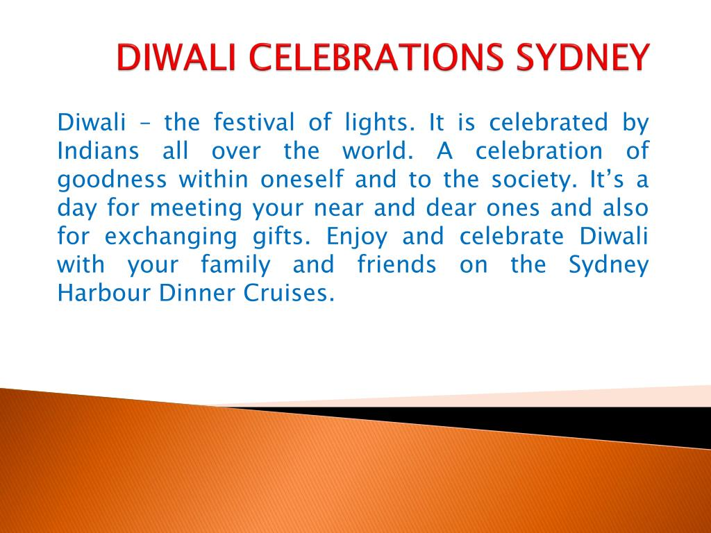 diwali celebrations sydney l.
