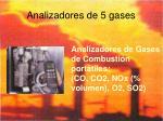 analizadores de 5 gases