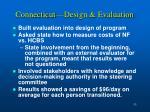 connecticut design evaluation