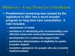 minnesota long term care consultation