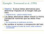 ejemplo townsend et al 1990