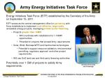 army energy initiatives task force