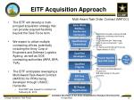 eitf acquisition approach