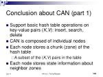 conclusion about can part 1
