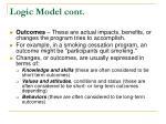 logic model cont3