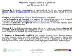 modelli di organizzazione e di gestione art 30 commi 2 3 4
