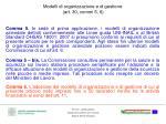 modelli di organizzazione e di gestione art 30 commi 5 6