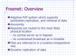 freenet overview