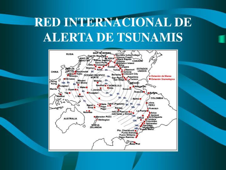 RED INTERNACIONAL DE ALERTA DE TSUNAMIS