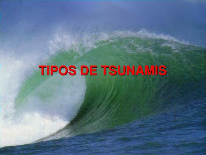 TIPOS DE TSUNAMIS