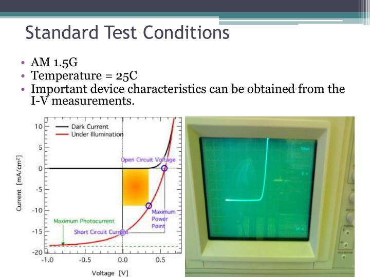 Standard Test Conditions
