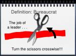 definition bureaucrat4