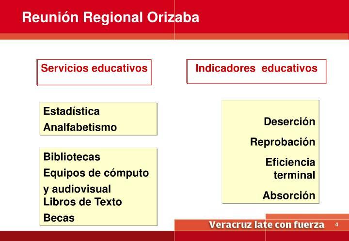Reunión Regional Orizaba