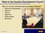 what is the system development cycle10