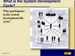 what is the system development cycle2