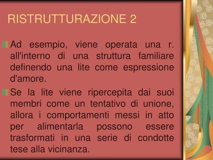 RISTRUTTURAZIONE 2