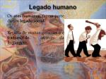 legado humano