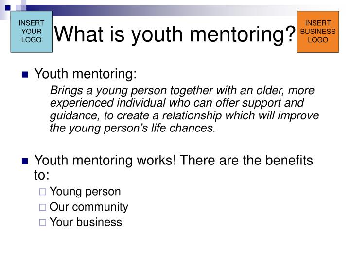 What is youth mentoring?