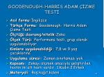 goodenough harr s adam zme test
