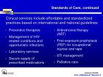 standards of care continued1