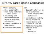 isps vs large online companies1