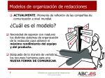 modelos de organizaci n de redacciones1