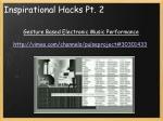 inspirational hacks pt 2