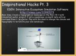inspirational hacks pt 3