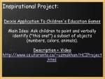 inspirational project
