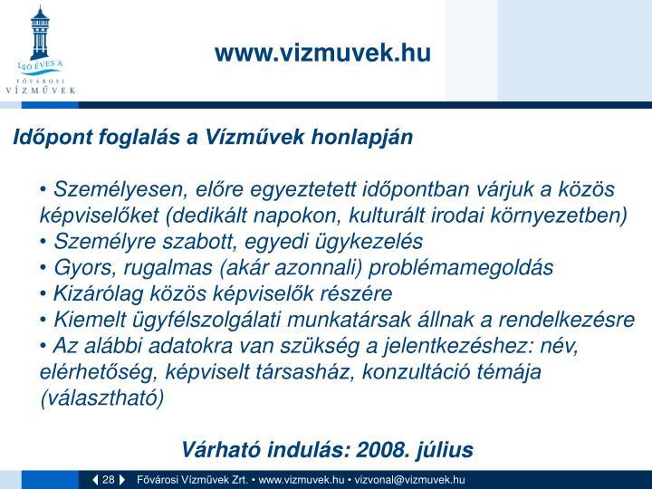 www.vizmuvek.hu