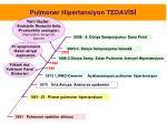 pulmoner hipertansiyon tedav s