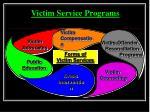 victim service programs