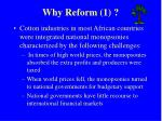why reform 1