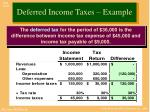 deferred income taxes example3