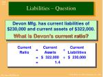 liabilities question1