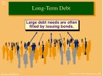 long term debt1
