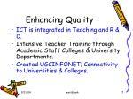 enhancing quality