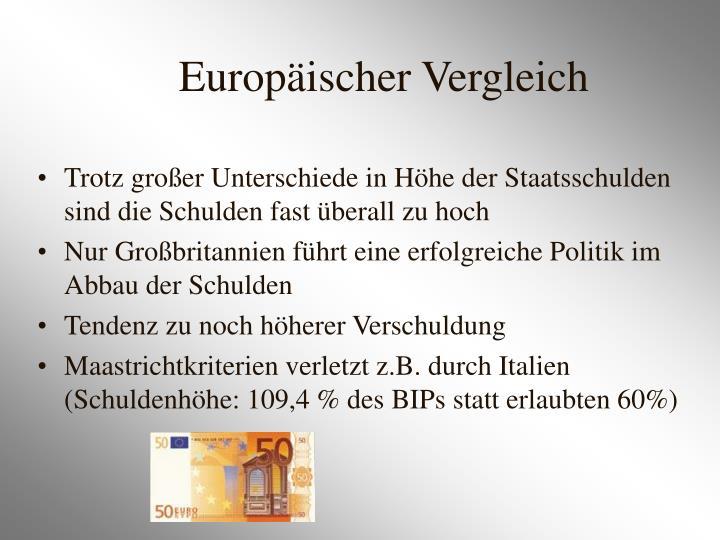 Europäischer Vergleich