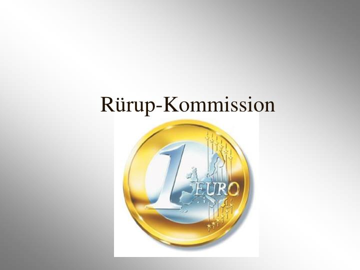 Rürup-Kommission