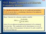 15 2 bayes theorem and discrete probability models