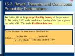 15 3 bayes theorem and continuous probability distributions