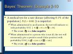 bayes theorem example 2 10