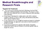 medical breakthroughs and research firsts2