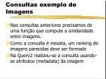 consultas exemplo de imagens1