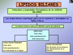 lipidos biliares