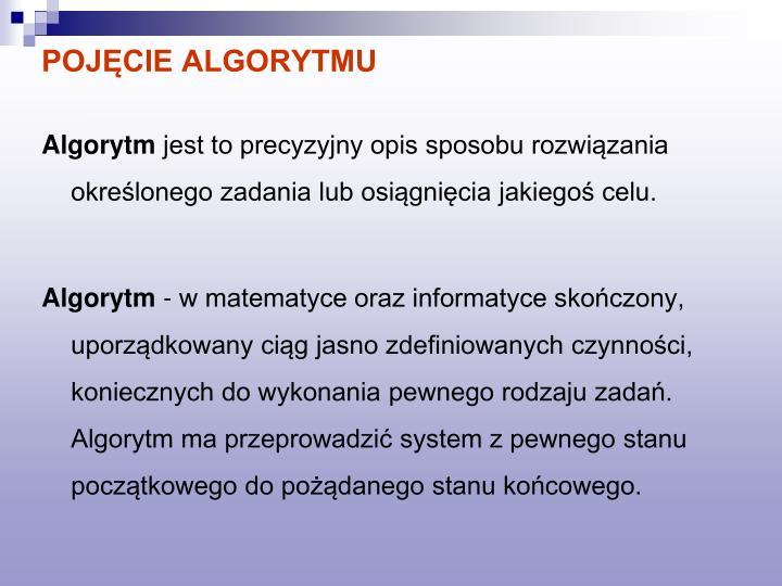 Poj cie algorytmu1