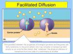 facilitated diffusion1