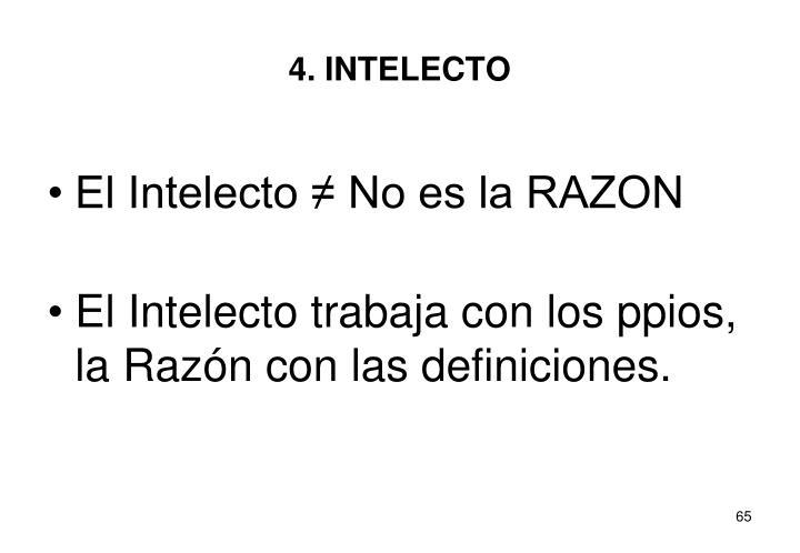 4. INTELECTO